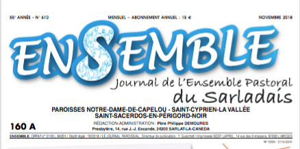 Journal Ensemble de novembre
