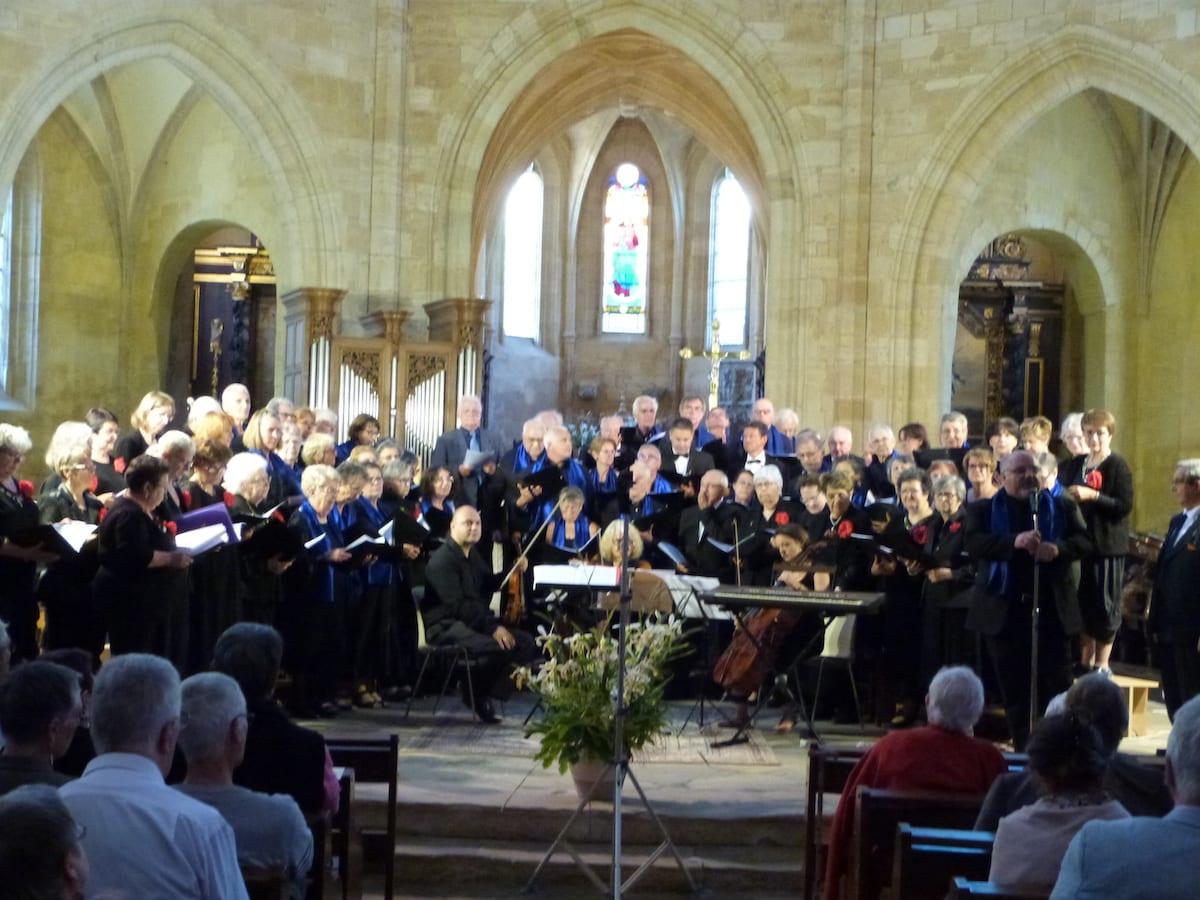 L'Ensemble Vocal de Sarlat a 45 ans