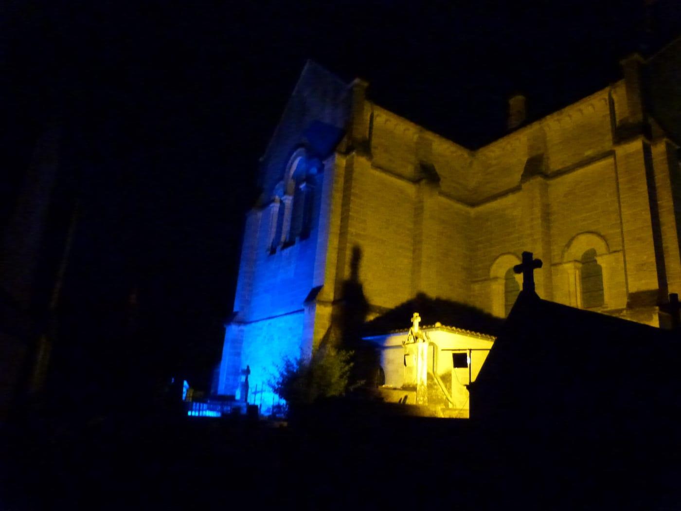 Revivre en photos la nuit des églises à Cénac
